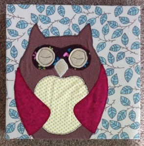 The fabric owl