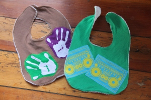 Applique bibs