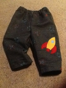 Rocket trousers